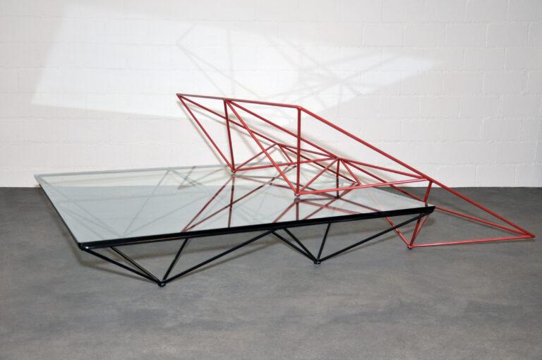 Couchtisch Alanda – Paolo Piva – quadratisch