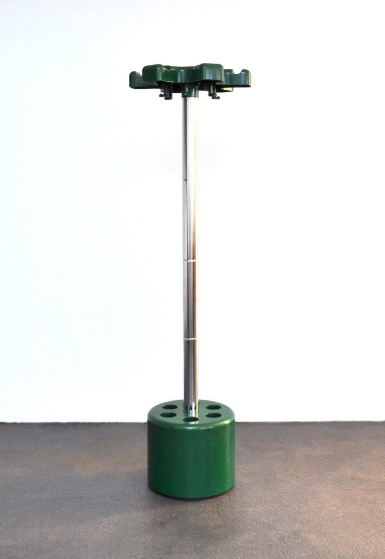 """Garderobenständer """"Velca"""" von Lucci Legnano grün"""