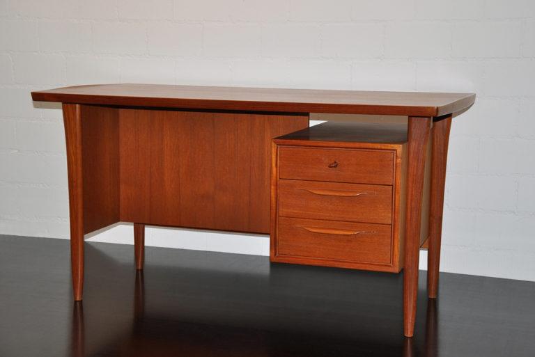 Schreibtisch aus Teakholz, SWISSTEAK