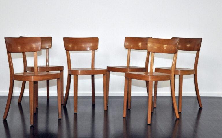 6 Stühle Horgen-Glarus von 1959